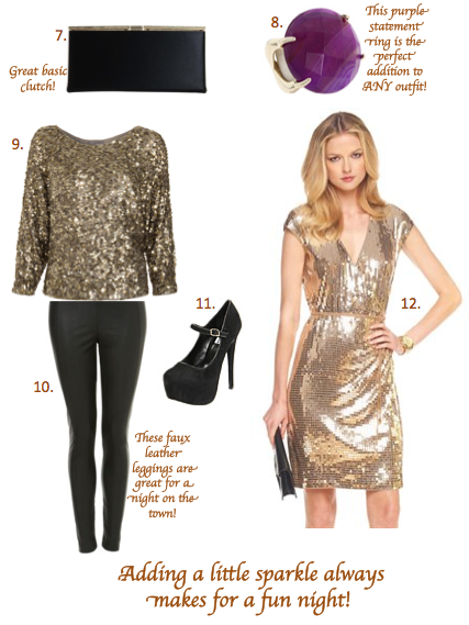 it's holiday party time! what to wear?