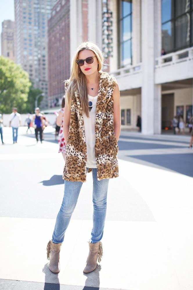 Simply a Leopard Vest